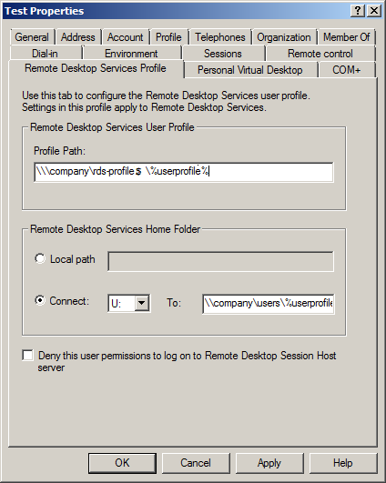 RDP Session Failing With Error