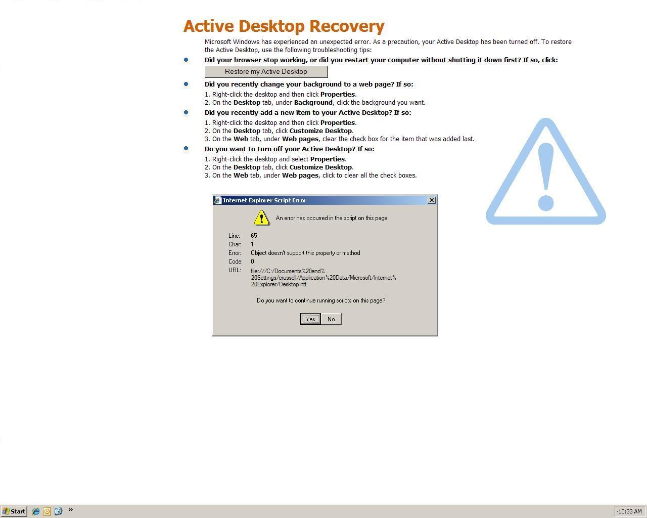 Active_Desktop_Recovery