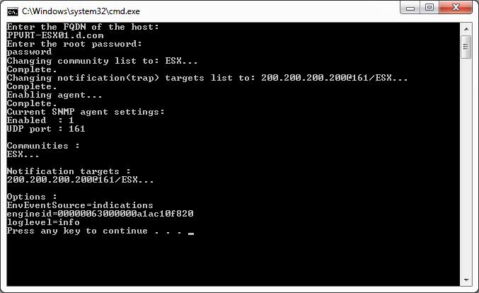 ESXI_Enable_SNMP_CLI