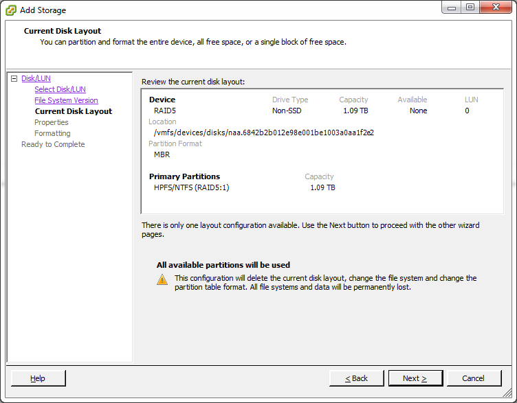ESX_Datastore_Configure3