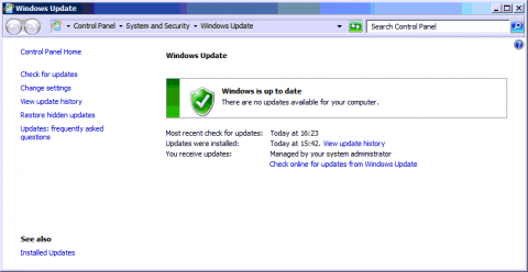 Windows7Update_UpToDate