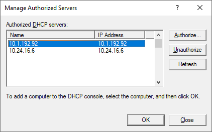 Windows_DHCP_Authorised_Servers_MMC
